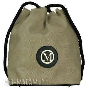 manzana plecak-worek luźny styl oliwkowy, manzana, plecak, worek, luźny