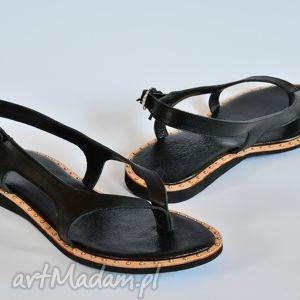 Góralskie sandały, góralskie, folkowe, spinka