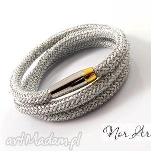 bransoletka duos, lina, sznur, świąteczny prezent