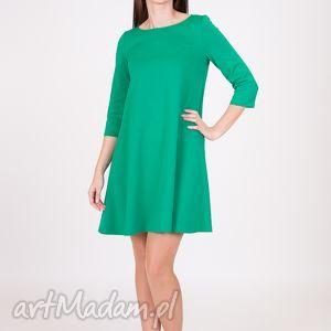 prezent na święta, 7 - sukienka jasno zielona, lalu, sukienka, dzianina