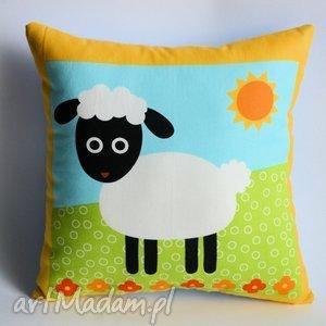 poduszki poduszka dziecięca - owieczka becia, poduszka, owieczka, wielkanoc, farma