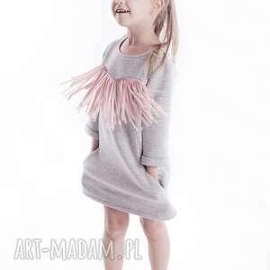 oryginalny prezent, tunika dt07, modna, stylowa, frędzle ubranka dla dziecka
