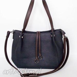 torebka na ramię granatowa, torebka, torba torebki