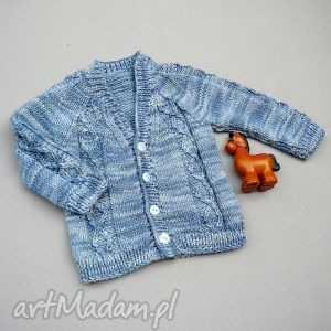 Sweterek Piotruś, sweter, uroczystość, chrzest, chłopczyk, wełana, niemowlę