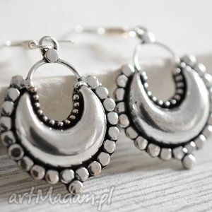 CASABLANCA posrebrzane kolczyki, srebro, srebrne, orient, orientalne