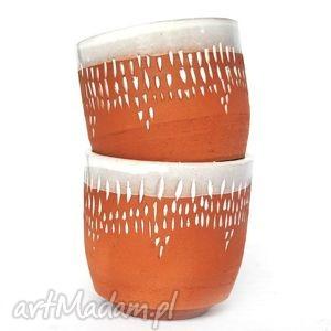 ceramiczne czarki strugane iv, czarka, czarki, ceramika, naczynia, użytkowe