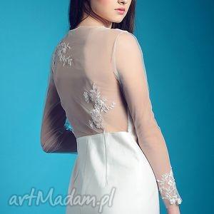 Nowa Kolekcja - Non lo So!, romantyczna, slubna, sukienka, koronkowe, aplikacje