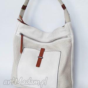kremowa torba na ramię, torba, torebka, prezent święta