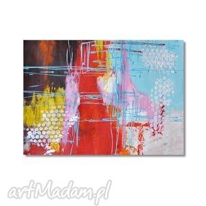 obrazy abstrakcja cls, nowoczesny obraz ręcznie malowany, abstrakcja