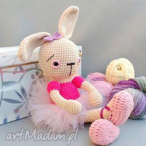 zającowa gabrysia, zając, lalka, przytulanka, prezent, dziewczynka, oryginalna