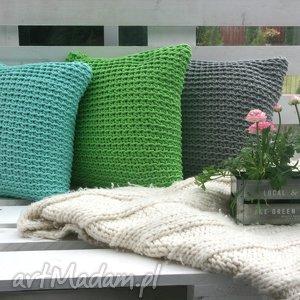 zestaw poduszek 3 sztuki, wiosna, zielony, poduchy poduszki dom