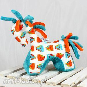 koń turkus - przytulanka sensoryczna, koń, konik, przytulanka, maskotka