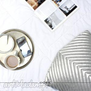 poduszka chevron 50 silver, poduszkaozodbna, poduszka, designerskapoduszka