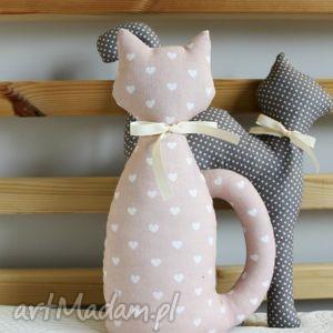 dekoracje maskotka kotek z bawełny , kotek, kot, maskotka, zabawka