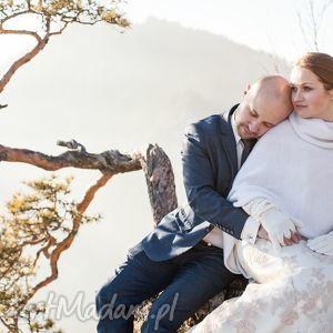poncho z wełny merino i kaszmiru, ślub, poncho, narzutka, wełna, kaszmir, sweter