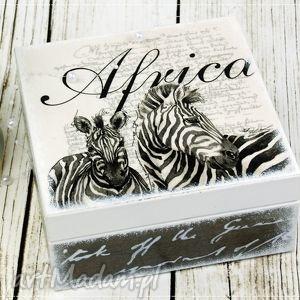 pudełka herbaciarka pudełko - afryka, pudełko, szkatułka, herbaciarka, zebra