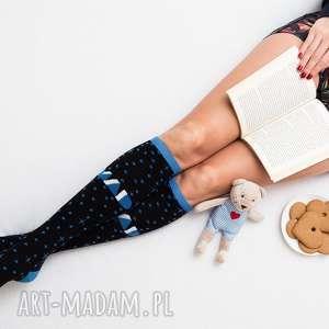 bielizna skarpetki sportowe mad socks - blue stardust , skarpetki, prezent, sport
