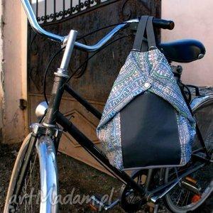 wyjątkowe prezenty, rowelove vege atlantyda, plecak, lato, wzory, torba