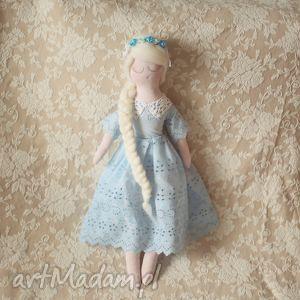 Koronkowa Bajka - lalka Śnieżka, lalka, wróżka, wianek, księżniczka, dla, dziewczynki