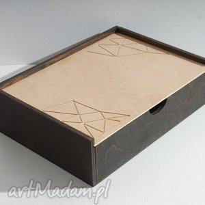 pudełka skrzynka geometria, na dokumenty, biurko, skrzynka, geometryczny