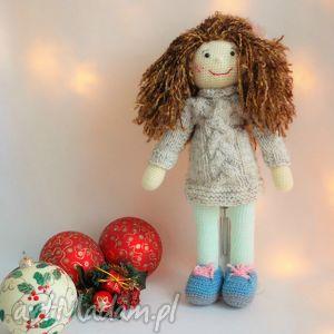 szydełkowa lalka, szydełko, szmaciana, szyta, prezent, ręcznie dla dziecka