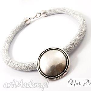 norart naszyjnik miracle, naszyjnik, lina, sznur, cyna biżuteria, oryginalny prezent