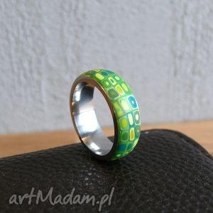 handmade obrączki wiosenna obrączka