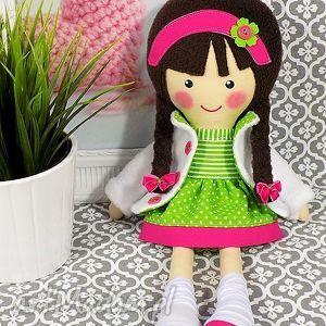 lalki malowana lala lara, lalka, zabawka, przytulanka, prezent, niespodzianka