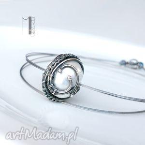 handmade naszyjniki bianco vii - naszyjnik z perłą majorka