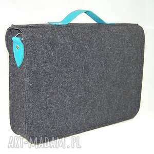 torebki 13 inch laptop macbook pro retina, air - torba, felt, filc, handmade