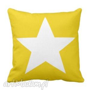 poduszka gwiazda home passion na żółtym 6287, gwiazda, star, dom