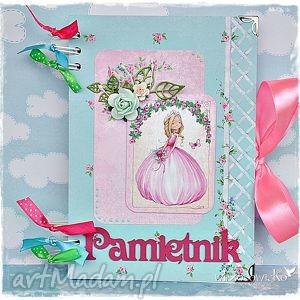 pamiętnik dla dziewczynki, pamiętnik, notatnik, księżniczka, dziewczynka, prezent