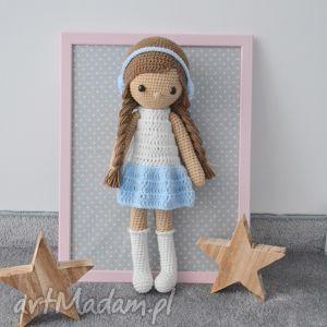 Prezent Lala Zuzia Błękitna, lalka, lala, zabawki, dziecko, urodziny, prezent