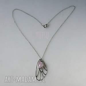 ice pink butterfly - skrzydło, motyl, butterfly, róż, różowe, pudrowy