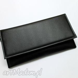 Prezent Kopertówka - czarna, kopertówka, handmade, wizytowa, prezent, wieczorowa