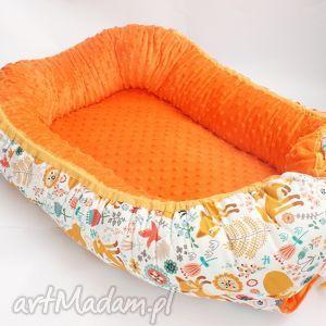 pokoik dziecka kokon niemowlęcy, minky, bawełna, kokon, łóżeczko, spanie dla