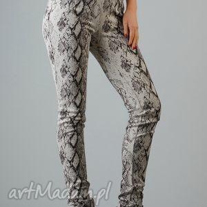 spodnie maryla 7, dopasowane, wygodne, kobiece, modne, pasek