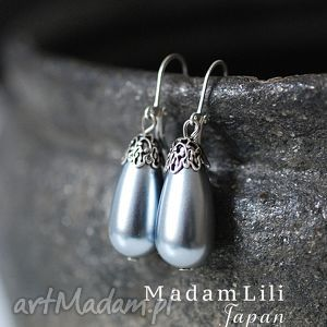 ♥Japońskie perły♥ Vintage kolczyki z lat 70., japonia, perły, srebro, vintage
