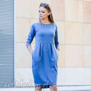 GENTLE sukienka dresowa, sukienka, elegancka, klasyka