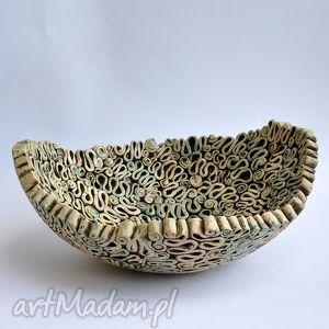 unikalne prezenty, ceramika fantazyjna misa, patera, ceramika