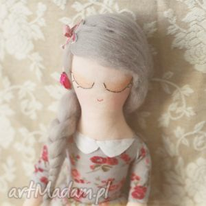 kwiatowa bajka - lalka yoko, lalka, kwiatuszki, wianek, wróżka, baletnica