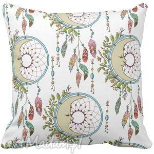 poduszka dekoracyjna boho łapacz snów 6532, dekoracyjna, ozdobna, boho, księżyc dom
