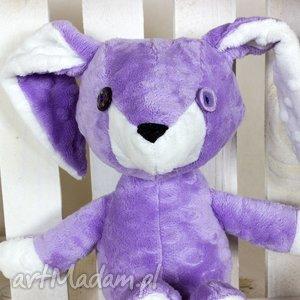 Królik Ernest , królik, króliczek, maskotka, przytulanka, pluszowy, minky