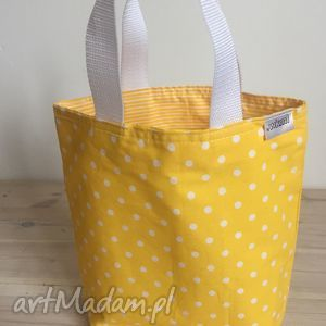 do ręki lady with yellow, prezent, grochy, śniadanie, lunch, pudełka, box torebki