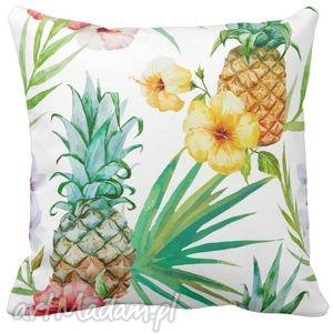 poduszka dekoracyjna ananasy tropic 6517, tropic, tropiki, anansy dom