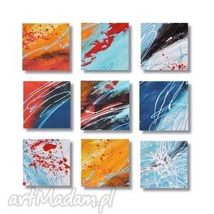 abstrakcja w92, nowoczesny obraz ręcznie malowany, abstrakcja, nowoczesny