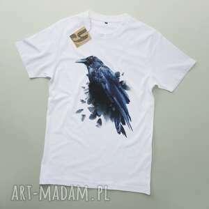 koszulki kruk tshirt z krukiem, koszulka, tshirt, meski, prezenty na święta