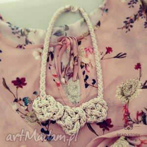 bead story lotta, lina, sznurek, len, metal biżuteria, oryginalny prezent