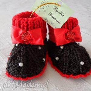 buciki dla niewoląt - carmen, buciki, niemowlęce, dziecięce, kapciuszki