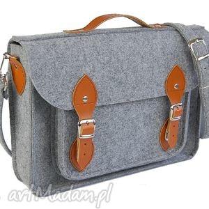 Filcowa torba na laptop 15 - personalizowana grawerowana dedykacja, laptop,